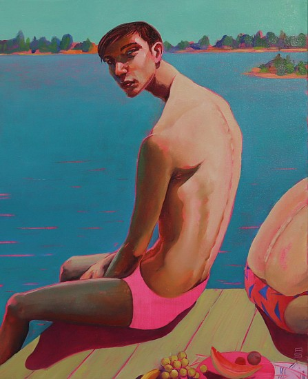 Andre Serfontein, Sitting on the Dock